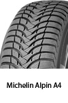 anvelope iarna michelin alpin A4