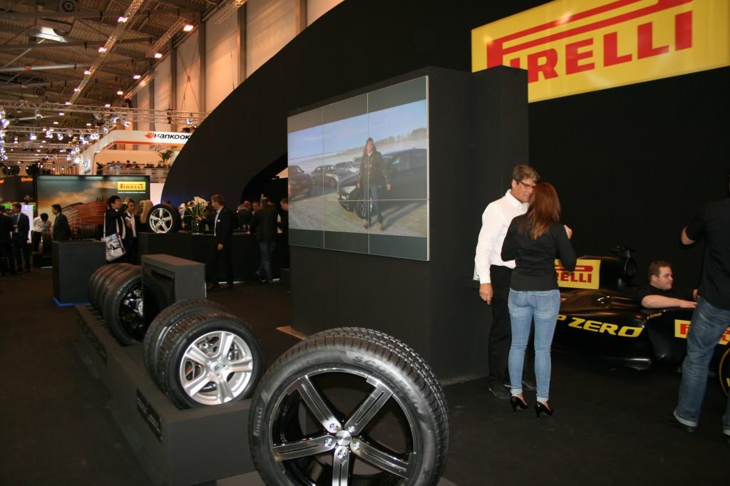anvelope pirelli stand targul international Reifen Messe Essen 2012