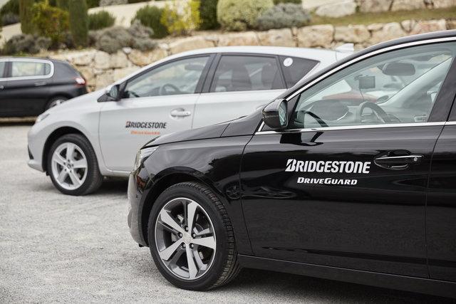 Testare anvelope Bridgestone DriveGuard