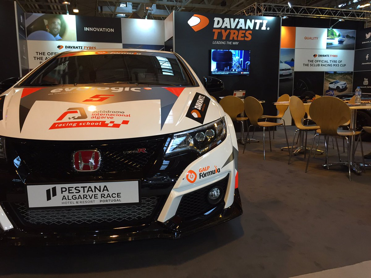 Honda Civic Type-R Davanti Tires