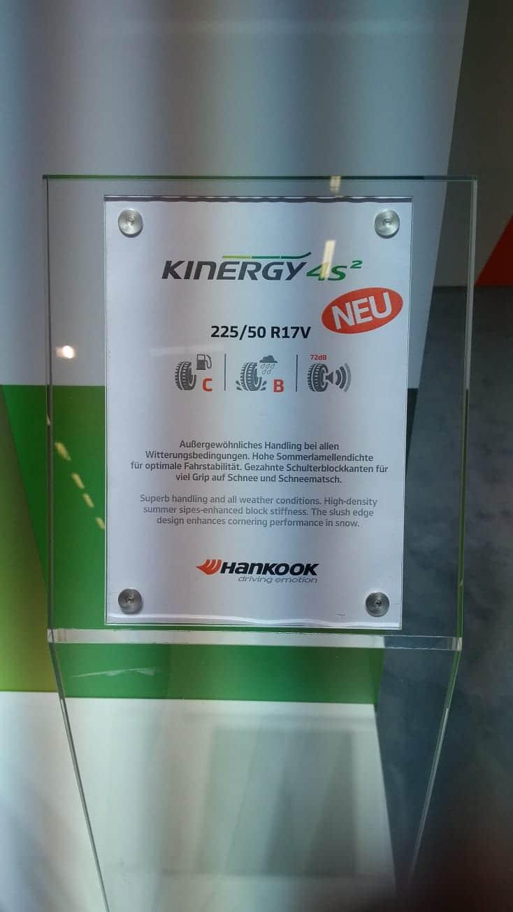Anvelope all seasons HANKOOK Kinergy 4s 2 225/50 R17