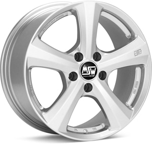 Janta Aliaj MSW 19 Full Silver 6.5x16 5x127 36 71.6