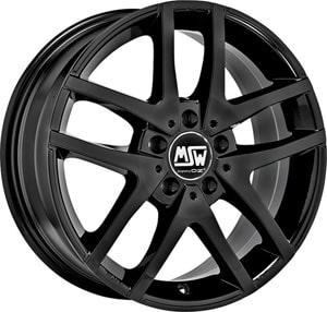 Janta Aliaj MSW 28 Gloss Black 7.5x18 5x114.3 45