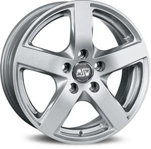 Janta Aliaj MSW 55 Full Silver 8.5x18 5x112 29 66.46
