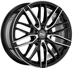 Janta Aliaj MSW 72 Gloss Black Full Polished 7x17 5x114.3 40 73