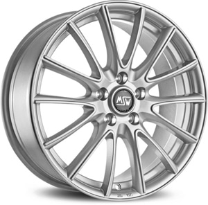 Janta Aliaj MSW 86 Full Silver 7.5x18 5x114.3 40