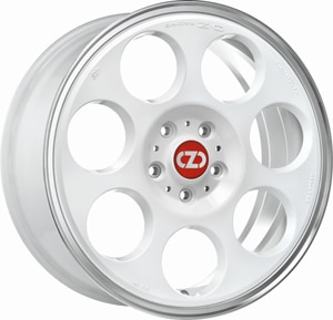 Janta Aliaj OZ ANNIVERSARY 45 Race White Diamond Lip 7x17 4x108 47 63.34