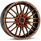 Aliaj-BORBET-CW4-Black-Orange-Glossy-7x17-4x108-20-65.09