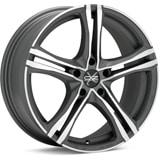 Aliaj-OZ-X5B-Matt-Graphite-Diamond-Cut-8x18-5x110-38-