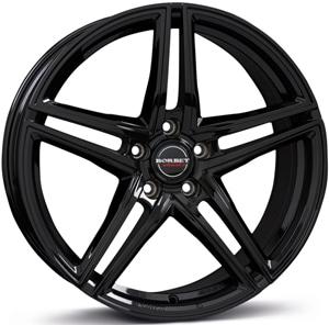 Janta Aliaj BORBET XRT Black Glossy 8.5x19 5x112 30 72.5